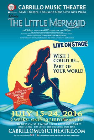 Disney's The Little Mermaid (Cabrillo Music Theatre)