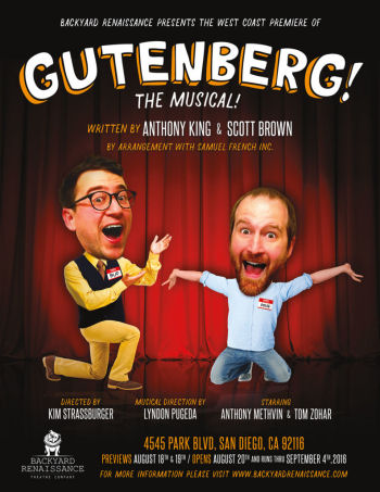 Gutenberg, The Musical! (Backyard Renaissance)