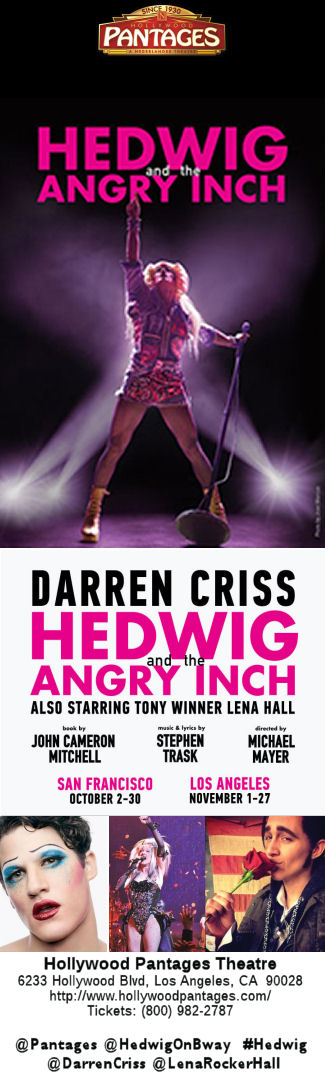 Hedwig and the Angry Inch (Pantages)