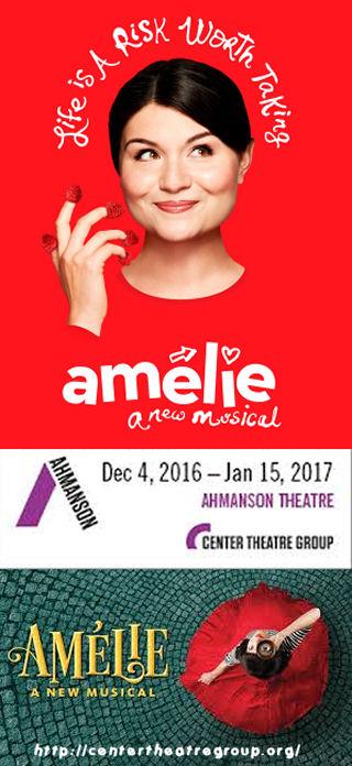 Amélie - A New Musical (Ahmanson)
