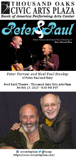 Peter Yarrow and Noel Paul Stookey (TO Civic Arts Plaza)