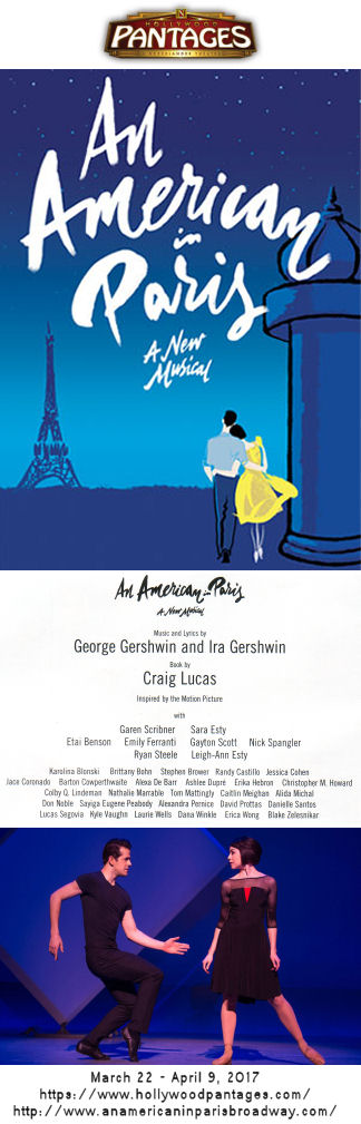 An American in Paris (Pantages)