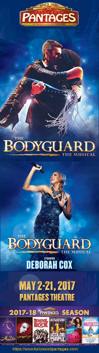 The Bodyguard (Pantages)