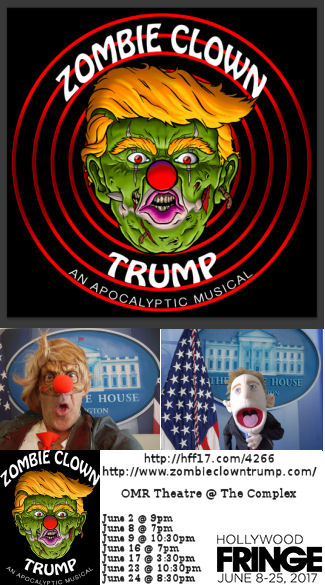 Zombie Clown Trump (HFF17)
