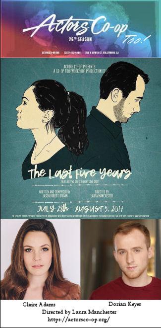 The Last 5 Years (Actors Co-Op)