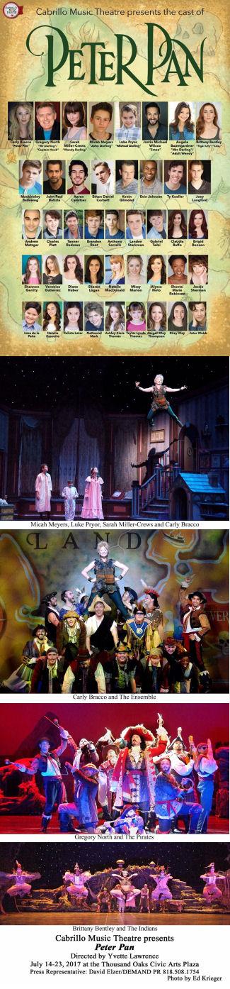 Peter Pan Cast (Cabrillo)