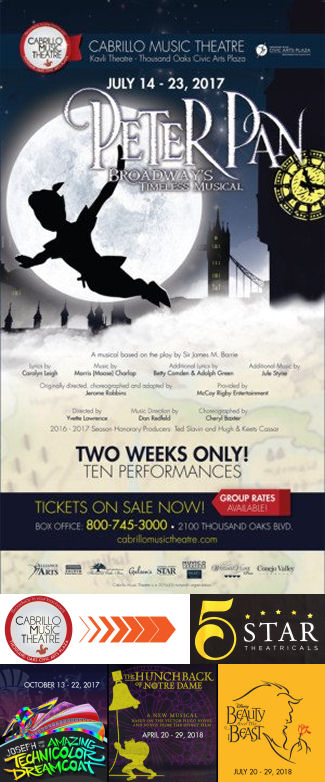 Peter Pan (Cabrillo Music Theatre)
