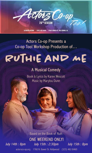 Ruthie and Me (Actors Co-Op)