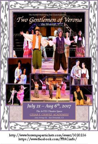 Two Gentlemen of Verona - The Musical (FPAC)