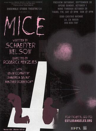 Mice (Ensemble Studio Theatre - LA)