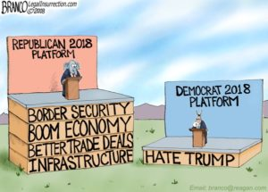 Sourced from https://legalinsurrection.com/2018/01/branco-cartoon-love-trumps-hate/