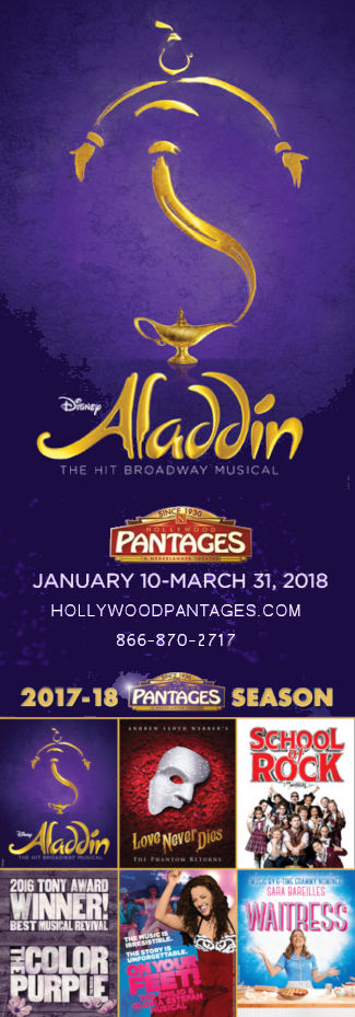 Aladdin - A New Musical (Pantages)