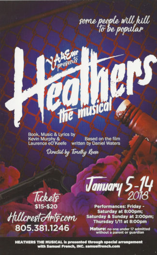 Heathers - The Musical (YA4Ever)