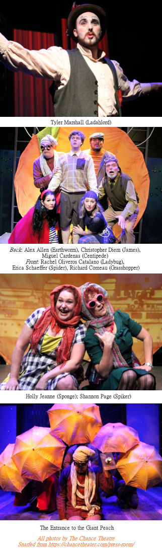 James and the Giant Peach (Photo Strip)