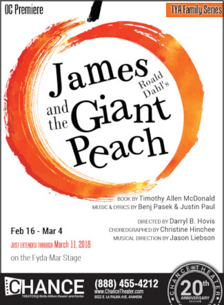 James and the Giant Peach (Chance Theatre)