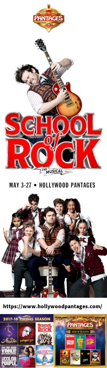 School of Rock (Hollywood Pantages)
