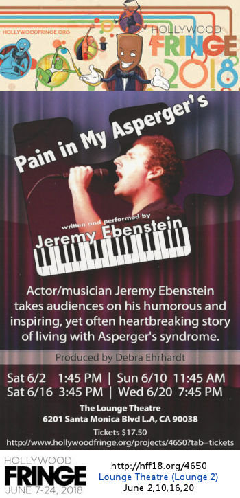 Pain in My Asperger's (HFF18)
