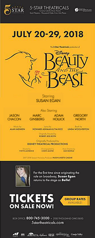 Beauty and the Beast (5-Star Theatricals)