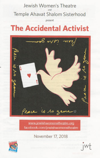 The Accidental Activist (Jewish Womens Theatre / TAS Sisterhood)