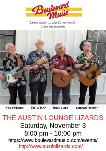 Austin Lounge Lizards (Boulevard Music)
