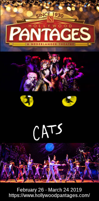 Cats (Hollywood Pantages)