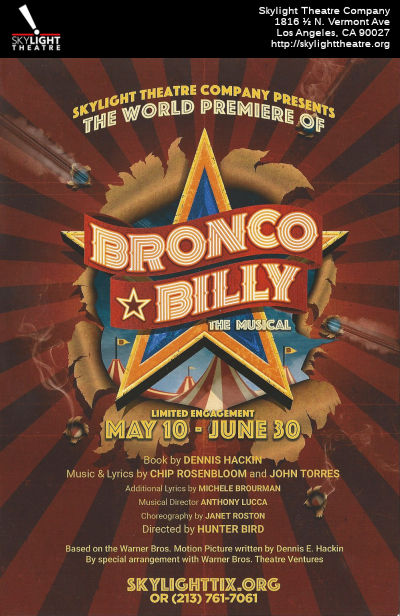 Bronco Billy - The Musical (Skylight)