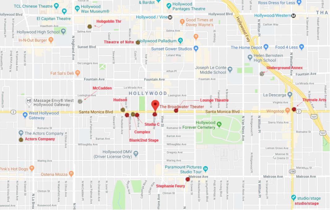 HFF19 Theatre Map