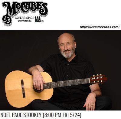 Noel Paul Stookey (McCabes 2019)