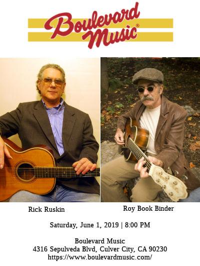 Rick Ruskin and Roy Book Binder (Blvd Music)