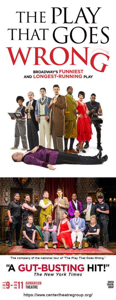 The Play That Goes Wrong (Ahmanson)