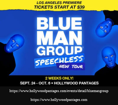 Blue Man Group (Pantages)