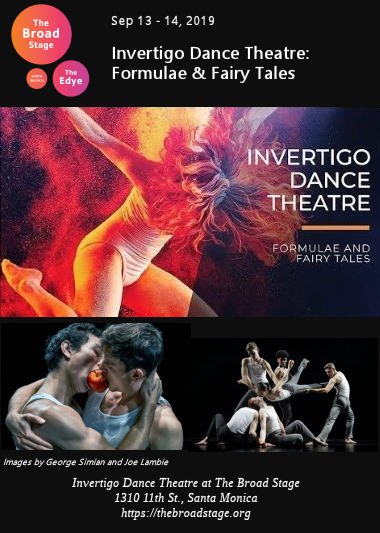 Invertigo Dance Theatre (Broad Stage)