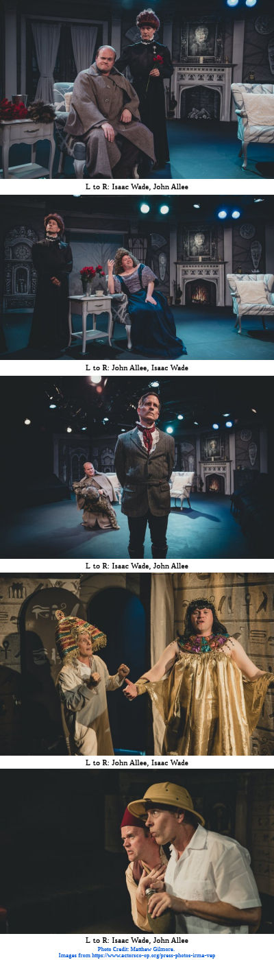 The Mystery of Irma Vep (Actors Co-Op) - Photo Strip