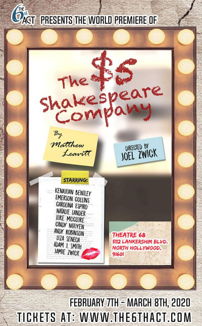 The $5 Shakespeare Company (6th Act @ Theatre 68)